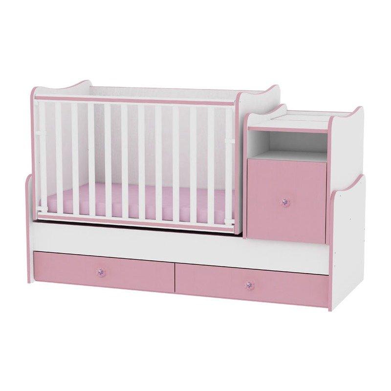 Lorelli Mobilier transformabil Trend Plus White/Pink
