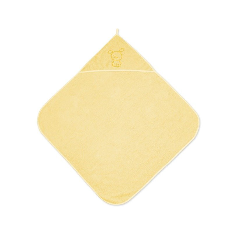Lorelli Prosopel de baie cu gluga pentru copii Yellow