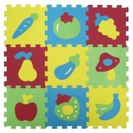 Ludi - Covoras din spuma Fructe