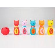 Ludi - Set de popice soft Pisicute