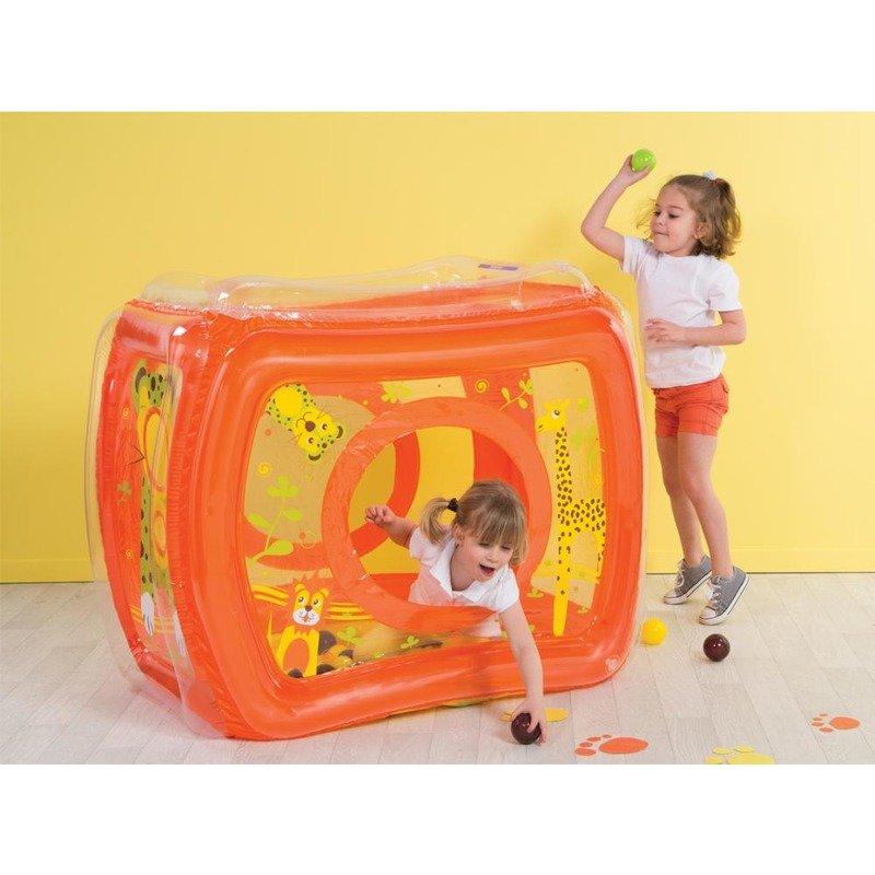 Ludi Spatiu de joaca gonflabil Jungle+50 bile din categoria Centre de activitati de la Ludi