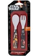 Lulabi Set lingurita si furculita melamina Star Wars Lulabi 8340250