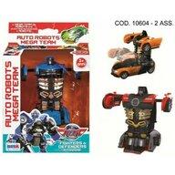 RS Toys - Masinuta Macheta 15 cm, Transformabila in robot