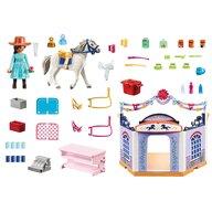 Playmobil - Set de constructie Magazin accesorii cai in Miradero Spirit
