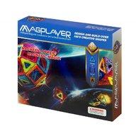MAGPLAYER - Joc de constructie magnetic 45 piese