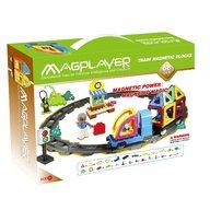 MAGPLAYER Joc de constructie magnetic - 68 piese