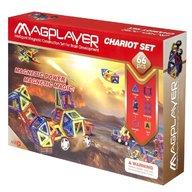 MAGPLAYER Set de constructie magnetic - 66 piese