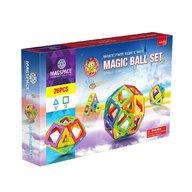 Magspace - 26 Piese Magic Ball set joc magnetic educativ de constructie 3D