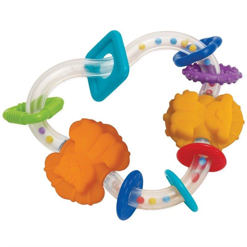 Manhattan Toy Zornaitoare triunghi din categoria Jucarii zornaitoare & muzicale de la Manhattan Toy