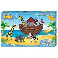 Hama - Set margele de calcat Arca lui Noe In cutie, 5000 buc Midi