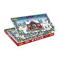 Hama - Set margele de calcat Calendar Advent In cutie, 5000 buc, Cu 5 plansete de lucru mici Midi
