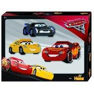 Hama - Set margele de calcat Disney Cars In cutie, 4000 buc Midi
