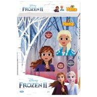 Hama - Set margele de calcat Frozen 2 2000 buc, In cutie cu agatator, Cu 1 plansete Midi