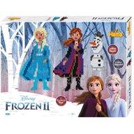 Hama - Set margele de calcat Frozen 2 4000 buc, Cu 2 plansete, In cutie de cadou mica Midi