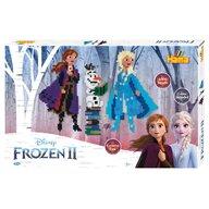Hama - Set margele de calcat Frozen 2 Cu 3 plansete, 6000 buc, In cutie de cadou mare Midi