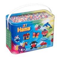 Hama - Set margele de calcat Mix de 10 culori Model 3 Midi