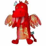 Fiesta Crafts - Marioneta de mana Dragonul Rosu