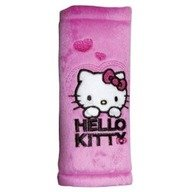 Markas Protectie centura de siguranta 'Hello Kitty' pink