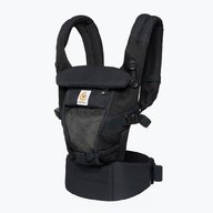Ergobaby - Marsupiu Adapt cool air Onyx Black