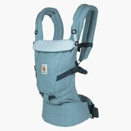 Ergobaby - Marsupiu ergonomic Adapt Heritage, 3, Albastru