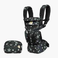 Ergobaby - Marsupiu ergonomic Omni 360 Cool Air Mesh Black Stars, 4, Negru