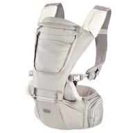 Chicco - Marsupiu ergonomic multifunctional  Hip Seat cu suport pentru sold, HazelWood (Crem). luni+