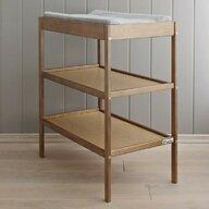 Woodies Safe Dreams - Masa de infasat din lemn masiv, Vintage, 76x44 cm