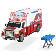 Dickie Toys - Masina ambulanta Ambulance DT-375 cu accesorii