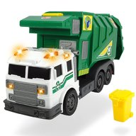Dickie Toys - Masina de gunoi City Cleaner cu accesorii