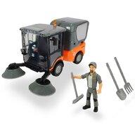 Dickie Toys - Masina Street Sweeper Cu accesorii, Cu figurina Playlife