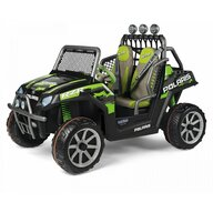 Peg Perego - Masina Polaris Ranger RZR, Green Shadow