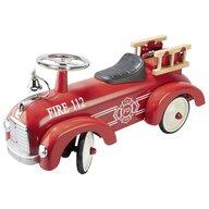 Goki - Masinuta de impins De pompieri Ride-on, Rosu