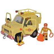 Simba - Masina Mountain 4x4 Cu accesorii, Cu figurina Pompierul Sam