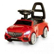 Ecotoys - Masinuta de impins Mercedes S65 AMG Cu sunete, cu Led, Rosu