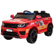 Chipolino - Masinuta electrica SUV Police, Rosu