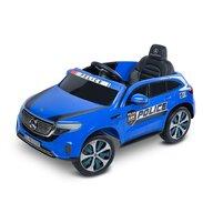 Toyz - Masinuta electrica Mercedes-Benz EQC Police 12V Cu telecomanda, Albastru