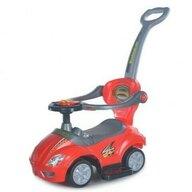 Baby Mix - Vehicul de impins Multifunctional 3 in 1 Ride On, Rosu