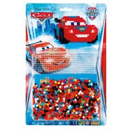Hama - Set margele de calcat Masinute Disney Fulger McQueen 1100 buc, In blister Midi