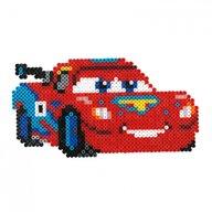 Hama - Set margele de calcat Masinute Disney Fulger McQueen In cutie, 4000 buc Midi