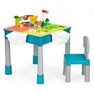 Ecotoys - Set Masuta cu scaun, 51x51 cm