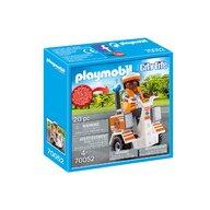 Playmobil - Medic cu masina de echilibru