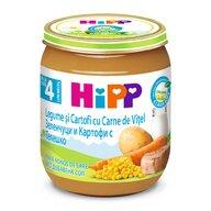 HiPP - Meniu Hipp vitel cu legume si cartofi 125 gr