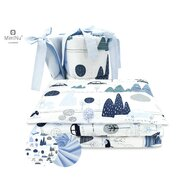 MimiNu - Set 3 piese patut, Childrens Journey blue