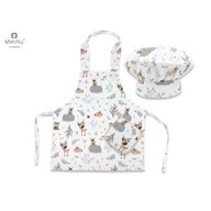 MimiNu - Set Micutul bucatar , Forest friends Grey/Beige