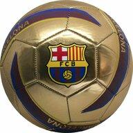 Minge de fotbal Marimea 5, Metalica Logo Gold Fc Barcelona