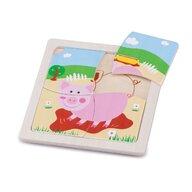 New Classic Toys - Mini puzzle, Purcelus