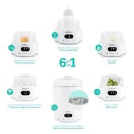 Miniland Baby - Sterilizator multifunctional cu aburi Super 6 Deco