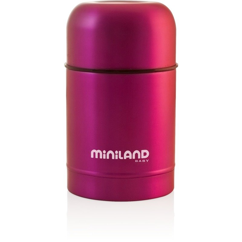 Miniland Baby Termos mancare solida 600 ml Pink din categoria Termosuri de la MINILAND BABY