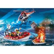 Playmobil - Set de constructie Misiunea de salvare a pompierilor City Action