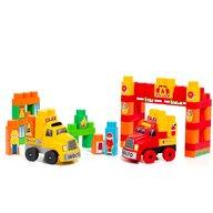 Molto - Set de constructie Camion Cu 60 de cuburi